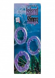 Silicone Island Rings - Purple (135712.7)