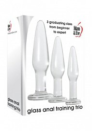 Adam And Eve Glass Anal Training Trio (194128.6)