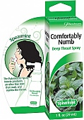 Comfortably Numb Deep Throat Spray Spearmint 1 Ounce (120064.4)
